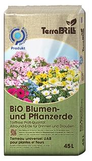 Terra Brill Bio Blumen- und Pflanzerde